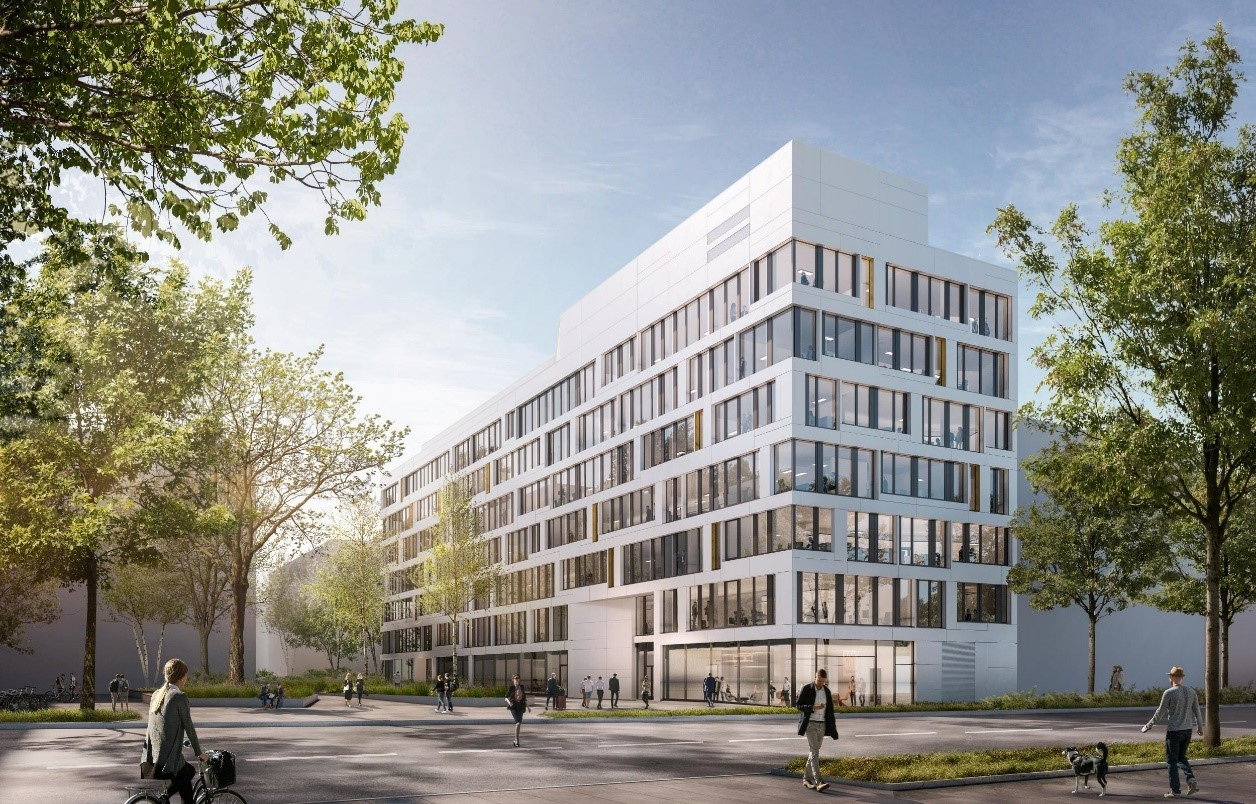 Drees & Sommer's new home in Frankfurt am Main will be on Hanauer Landstrasse.